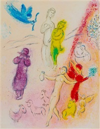 the syrinx fable (m. 332) by marc chagall
