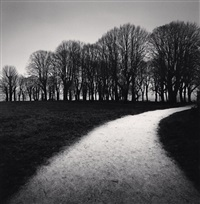 moonlit path, vezelay, bourgogne, france, 1998 by michael kenna