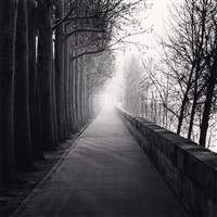 cours la reine, paris, france, 1987 by michael kenna