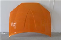 untitled, orange by sylvie fleury