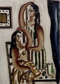 deux figures by fernand léger