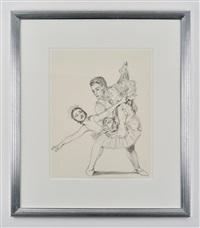 a ballet pair by rachel feinstein