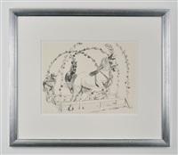 circus horses by rachel feinstein