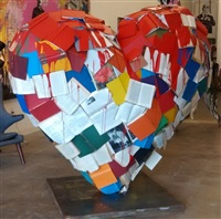 book of hearts by mr. brainwash