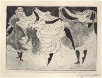 tänzerinnen by lovis corinth