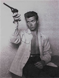 clint eastwood by russell young