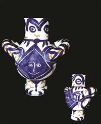petit oiseau avec visage bleue by pablo picasso