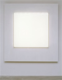 untitled (white light series) by mary corse