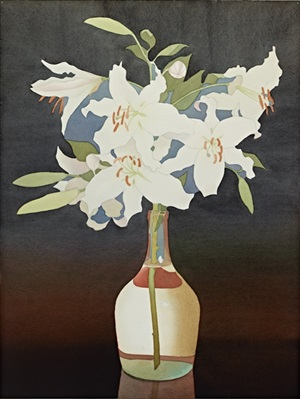 white lilies by mark adams