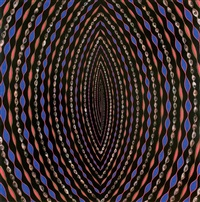 untitled (entrance) by fred tomaselli
