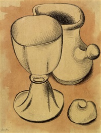 nature morte by auguste herbin