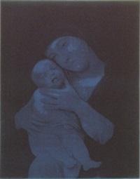 untitled (madonna with child) by gottfried helnwein