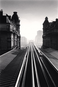 passy metro, paris, 1991 by michael kenna