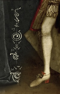 the calligraphy of dance 15 - the duke's red heel c.1735 by tessa traeger