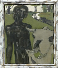 schwarzer gott by markus lüpertz