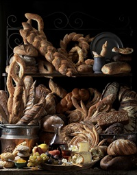 bread and wine by paulette tavormina