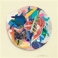eusapia<br />imaginary places iii by frank stella