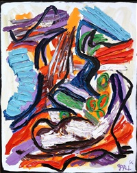 out of the nature by karel appel