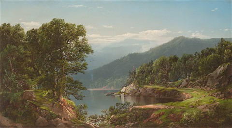 summer landscape by william louis sonntag
