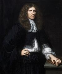 portrait of pieter blaeu (amsterdam 1637-1706 amsterdam) by wallerant vaillant