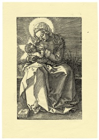 the virgin nursing the child by albrecht dürer