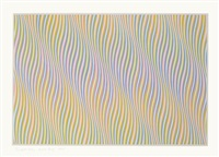 untitled (bronze) by bridget riley