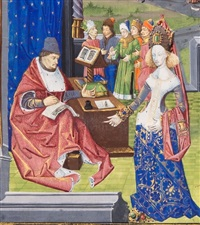 giovanni boccaccio, des cas des nobles hommes et femmes by unknown