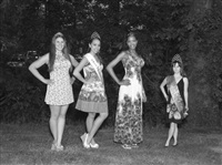 miss model contestants. cleveland, ohio by alec soth