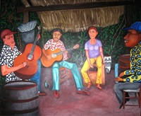 untitled (four musicians) by rafael ferrer