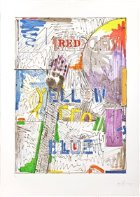 land's end by jasper johns