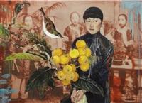 lady loquat by hung liu