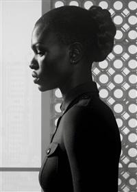 waiting: nairobi portrait 1 by erwin olaf