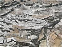 dryland farming #13, monegros county, aragon, spain by edward burtynsky