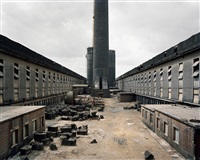 old factories #1, fushun aluminium smelter, fushun city, liaoning province, china by edward burtynsky
