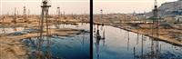 socar oil fields #1a & 1b, baku, azerbaijan by edward burtynsky