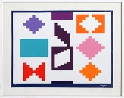 design iv by yaacov agam