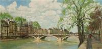 le pont louis philippe by constantine kluge