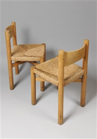 ensemble de chaises by charlotte perriand