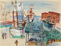 hommage à claude lorrain by raoul dufy