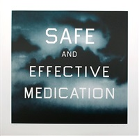 safe and effective medication by ed ruscha