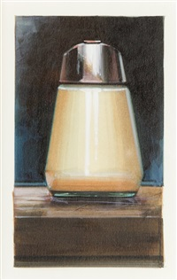sugar dispenser (front view) by ralph goings