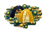 apparitions brooch by eugène grasset