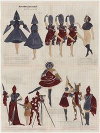 the queen's profile or aux mille tours revisité by marcel dzama