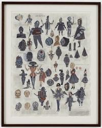 the chessmen by marcel dzama