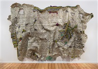timespace by el anatsui