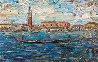 venice, postcards from nowhere by vik muniz