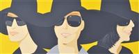black hats iv by alex katz