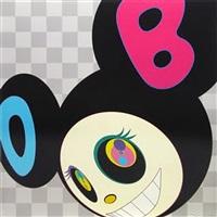and then black mr dob by takashi murakami