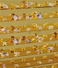 gold tears by damien hirst
