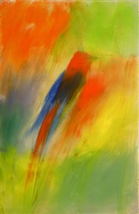 indian song bird by ross bleckner